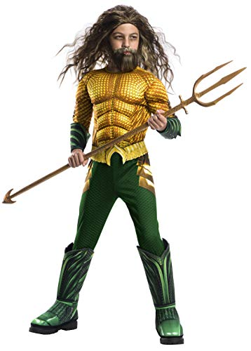 Rubie's Boys Aquaman Movie Child's Deluxe Costume, Small