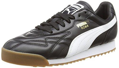 Puma Unisexe-erwachsene Roma Chaussure Anniversaire, Schwarz (puma Noir-blanc 1)