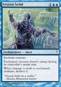 Magic: the Gathering - Frozen Solid - Coldsnap - ()