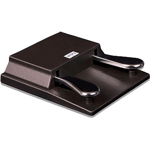 Studiologic VFP-2-15-B Double Piano-Style Sustain Pedal, PC1/SP Series, Closed Polarity, 1/4-Inch Stereo Plug (VFP-2-15-B)