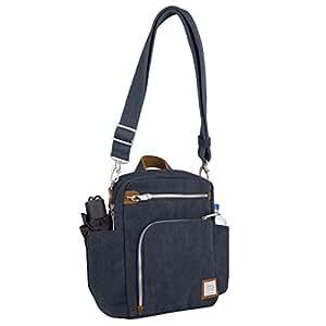 Travelon Anti-Theft Heritage Tour Bag, Indigo (Blue) - 33074 350