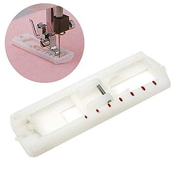 Pie para máquina de coser – 1 pieza cuatro pasos costuras bloqueo de ojo Pies de