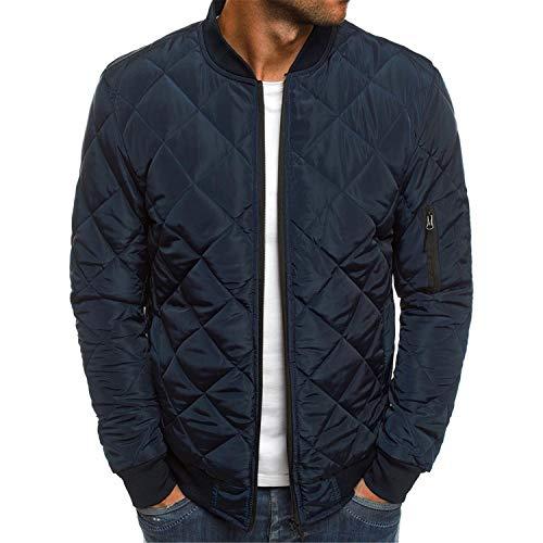 Soluo Mens Casual Jacket Outdoor Sportswear Windbreaker Lightweight Bomber Jackets and Coats Outerwear
