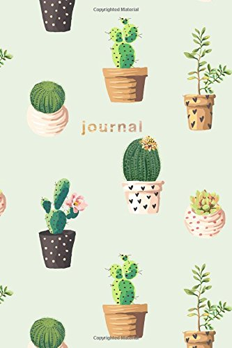 Read Online Journal: Green Cactus Notebook: 175-Page Wide-Ruled Cactus Journal (Cactus Journals) (Volume 1) ebook