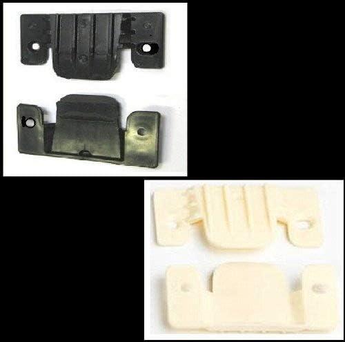 4 x Plastic Corner Sofa Beds Interlocking Connecting Clips Brackets Free Screws