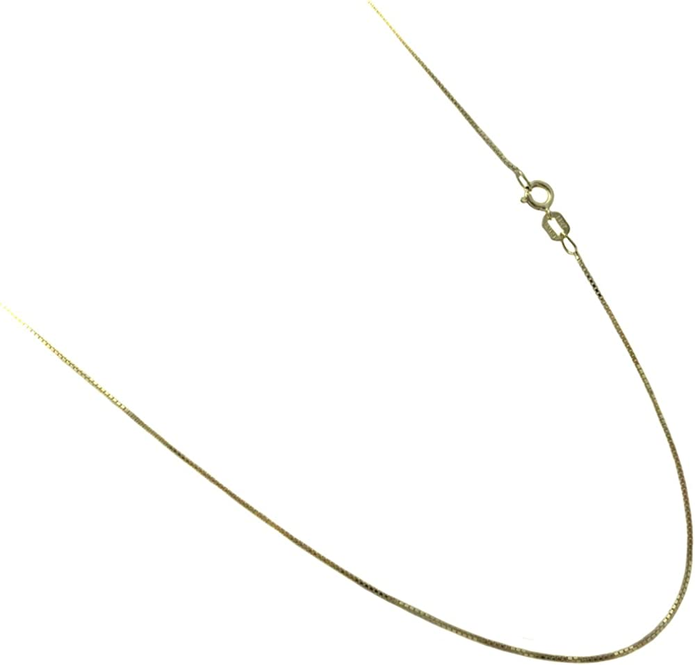 Italian Rhodium Plated Snake Chain 025 1.2MM Solid .925 Sterling Silver 16-24 22 Inches