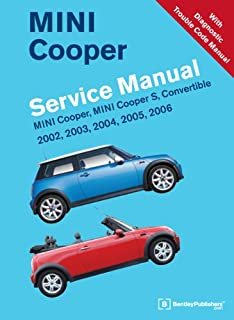 amazon com bentley paper repair manual mini cooper r55 r56 r57 rh amazon com 2006 Mini Cooper Transmission Fluid 2006 Mini Cooper S Console