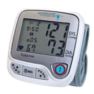 Quality Wrist BP Monitor By Lumiscope