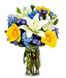 Peace Angel Tribute - Same Day Sympathy Flowers Delivery - Condolence Flowers - Funeral Flower Arrangements - Sympathy Plants