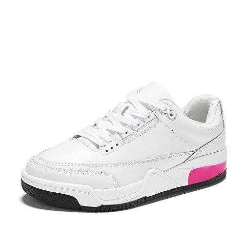 Sportive 55 Donna A Xiaolin No Piatto Fondo Spesso Corsa Da Bianca Scarpe Shoes FUnqv