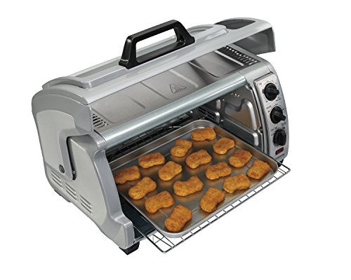 Hamilton-Beach-31127-Easy-Reach-Toaster-Oven-with-Roll-Top-Door-Silver