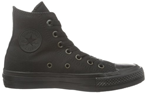 Black Taylor Star All Black Chuck Hi Casual Unisex II Converse Shoe gw47AA