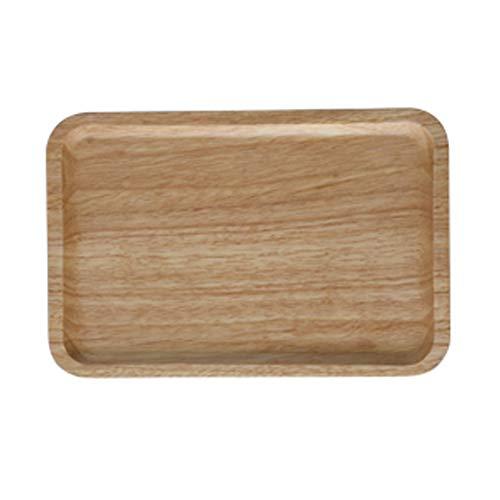 Oak Trays Solid Wood Storage Trays Fruit Trays Household Tea Trays Breadboards Breakfast Wooden - Breadboard Oak