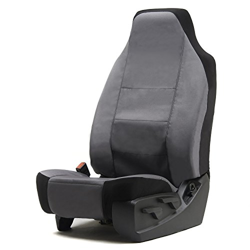 Outlaw Products Charcoal Canvas High Back Bucket Seat Cover