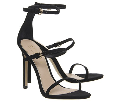 Strap Heels Hush 3 Black Office Sole Single qxwHEF17pn