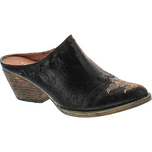 Very Volatile Women's Daytons Mule,Black,7 B US ()