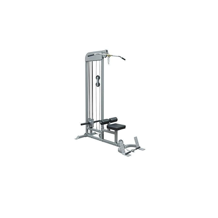 TACVPI Champion Pull Down and Low Row Combo Machine Plate Loaded