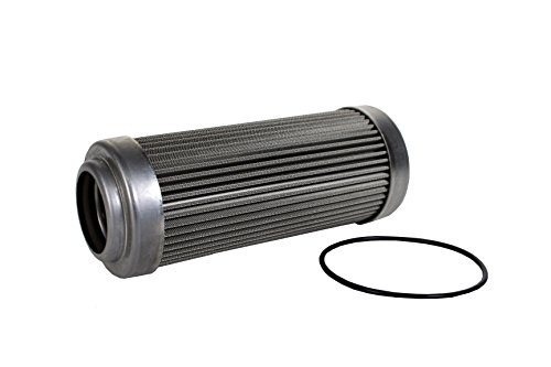 """Aeromotive 12602 Replacement Filter Element, Fits All 2-1/2"""" OD Filter Housings"""