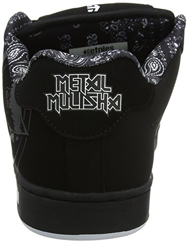 Etnies Herren Metal Mulisha Fader Skateboardschuhe Schwarz (976-black/white)