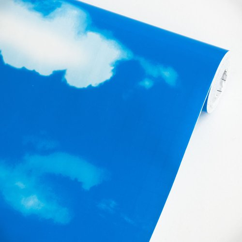 Blue Blue Sky - Vinyl Self-Adhesive Wallpaper Prepasted Wall stickers Wall Decor (Roll)