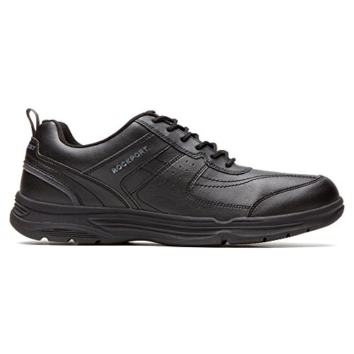 Rockport Mens State O Motion U Bal Walking Shoe- Nero Sintetico