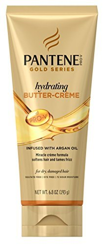 Pantene Gold Series Butter- Creme Hydrating 6.8 Ounce Tube (201ml) (6 Pack)