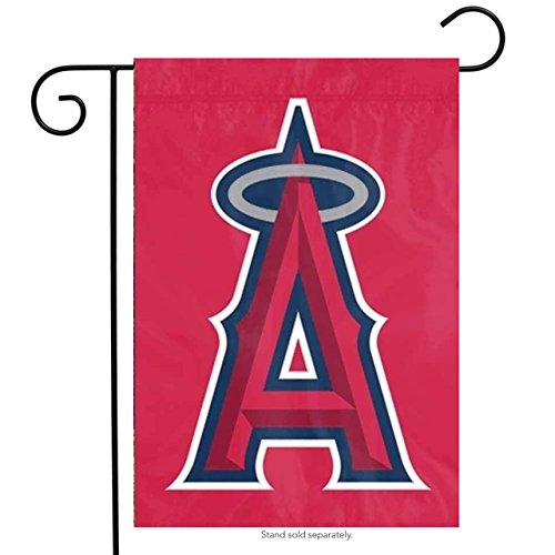 MLB Los Angeles Angels Sports Team Logo Garden/Window Flag 15