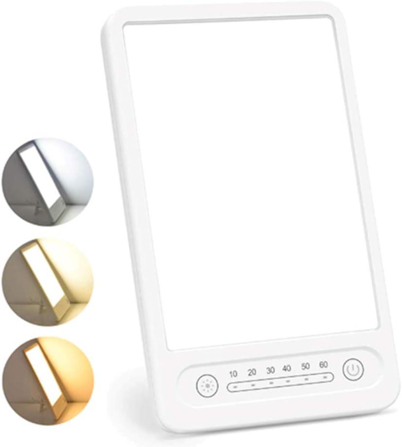 Touch Control USB Typ C und 4 Timer-Einstellungen f/ür saisonale Depressionen zu Hause//im B/üro 6,29 Viitech SAD-Lichttherapielampe 5,5 Zoll tragbare UV-freie 10000 Lux LED-Lichttherapielampe