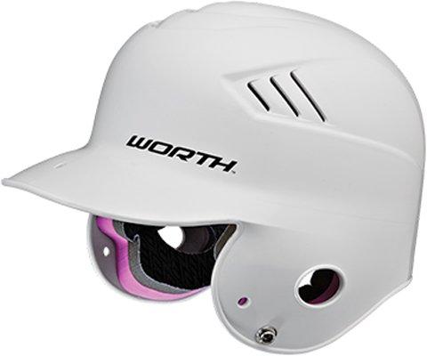 Worth CoolFlo T-Ball Batting Helmet (White)