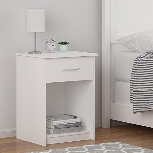 Ameriwood Home  Core Nightstand, White by Ameriwood Home (Image #2)