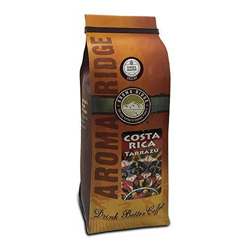 Costa RicaTarrazu SWP Decaf Coffee, 1 lb Whole Bean FlavorSeal Vacuum Bag