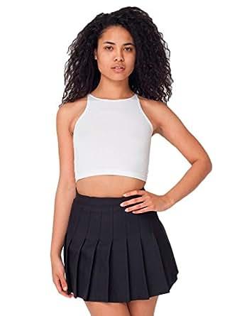 American Apparel Women's Tennis Skirt Size S Black
