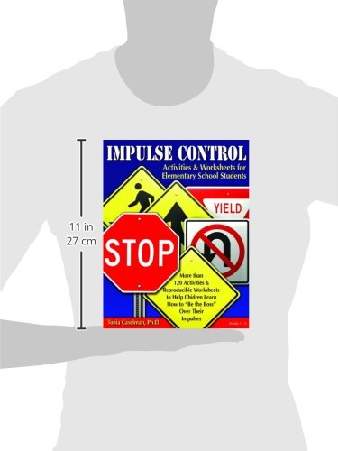 Impulse Control Activities & Worksheets for Elementary Students ...