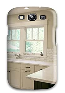 New Style Case Cover QacWVzm18554LGKEg Airy California Kitchen With Marble Countertops Compatible With Galaxy S5 Protection Case Sending Screen Protector in Free