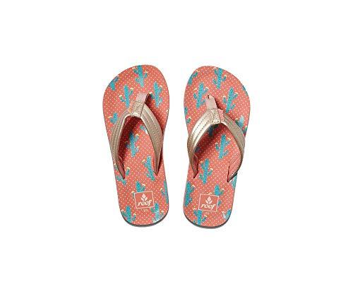 Reef Kids AHI Youth Sandal Cactus Size ()