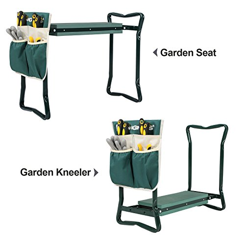 Review SONGMICS Garden Kneeler Seat