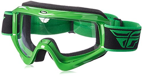 Fly Racing Focus Goggle Green/Clear One Size