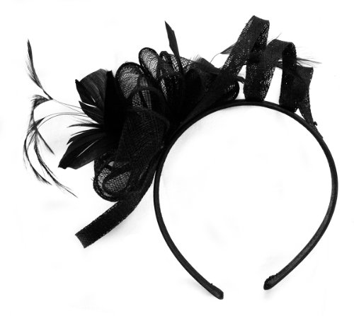 Cindy Feather Fascinator by Cov-ver Hats