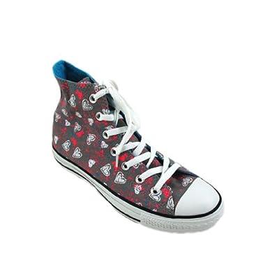 b69e0e07bd08 Converse Chuck Taylor Hearts Allover Print Grey Unisex Shoe - Both in Hi  and Lo Top (8
