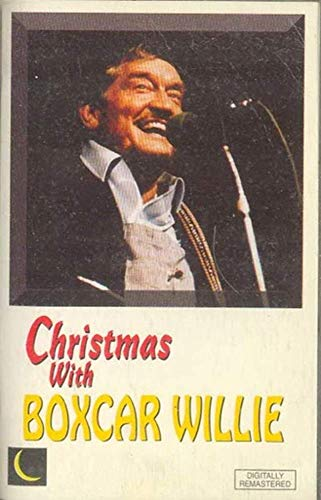 BOXCAR WILLIE: Christmas With Boxcar Willie Cassette Tape
