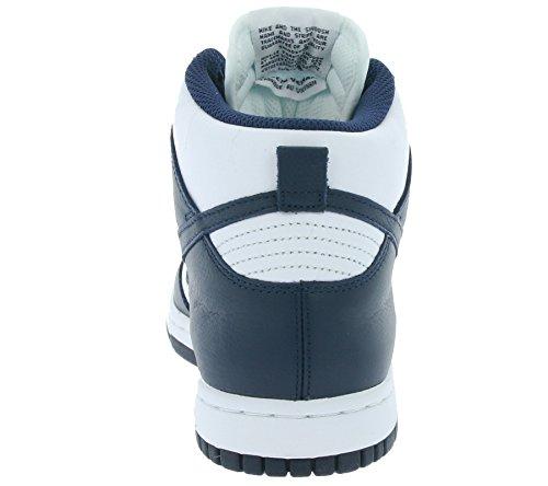 Nike Dames Wmns Dunk Retro Qs Tennisschoenen Wit (wit / Midnight Navy)