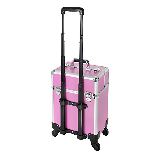 Hst Extra Large Beauty Trolley On Universal Wheels