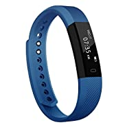 Toobur Activity Tracker, Slim Waterproof Fitness Tracker Watch with Pedometer Calories and Sleep Monitor, Step Counter Wristband Smart Watch for Kids Women Men