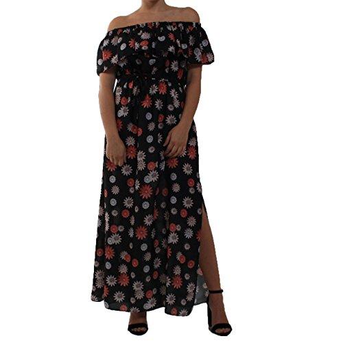 Imperial Damen Kleid Kleid Schwarz Schwarz Schwarz Rosa Imperial Kleid Rosa Imperial Damen Damen qqAZwFB