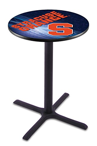 Holland Bar Stool L211B Syracuse University Licensed Pub Table, 28