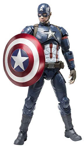 SH Figuarts Captain America (Civil War)
