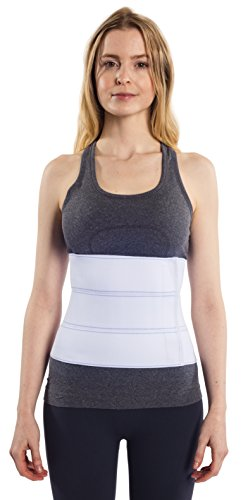 NYOrtho Abdominal Binder Lower Back Support Belt - Compression Wrap for Men and Women (30'' - 45'') 3 PANEL - 9'' by NYOrtho (Image #6)