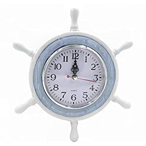 41%2BAXk-6%2BnL._SS300_ Best Ship Wheel Clocks