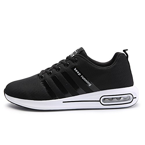 Gym Sport Outdoor de Sneakers Baskets Noir Homme a Casual Course Fitness Air Chaussures Respirante Running UXnIt0xv
