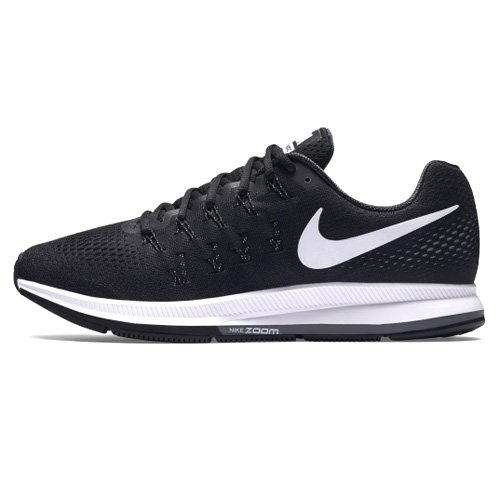 Nike Men's Air Zoom Pegasus 33, Black/White/Anthracite/Cool Grey - 10.5 D(M) US